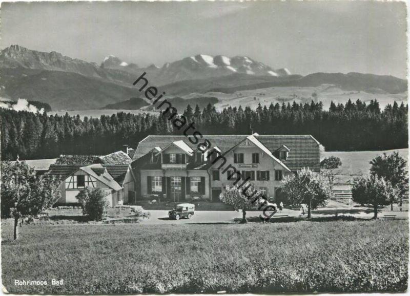 Heimenschwand - Kurhaus Rohrimoos Bad - Foto-AK Grossformat - Verlag J. Gaberell AG. Zürich