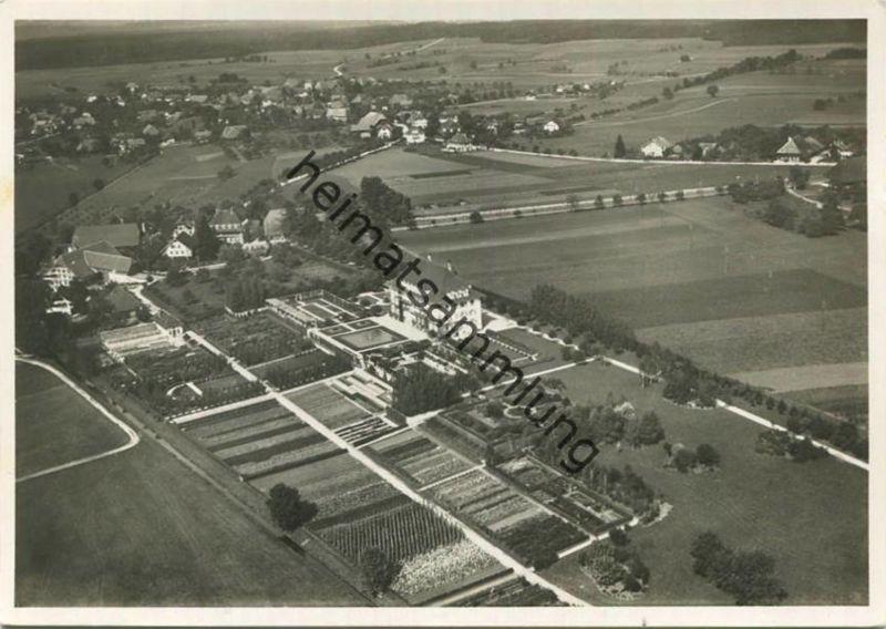 Oeschberg-Koppigen - Kantonale Schule für Obst- Gemüse- & Gartenbau - Flugaufnahme - Foto-AK Grossformat - Verlag O. Rot