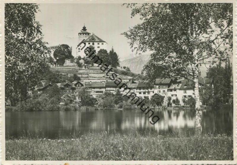 Buchs - Werdenberg - Schloss - Foto-AK Grossformat - Verlag Foto-Gross St. Gallen gel. 1951