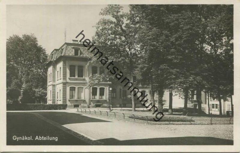 St. Gallen - Gynäkologische Abteilung - Foto-AK - Verlag Baumgartner St. Gallen gel. 1934