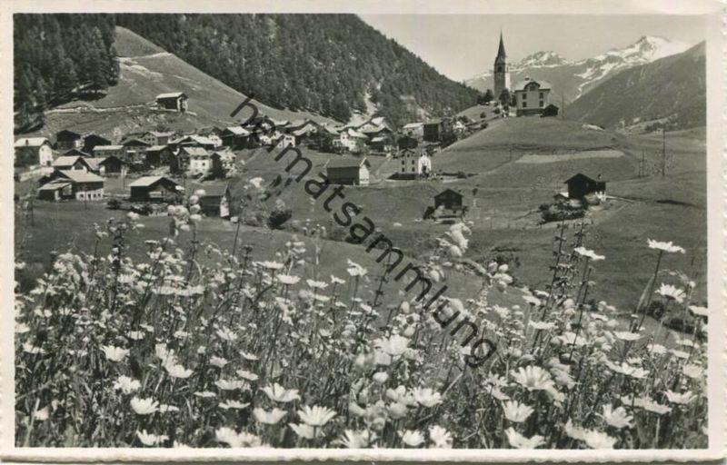Schmitten - Foto-AK - Verlag Otto Furter Davos-Platz gel. 1957