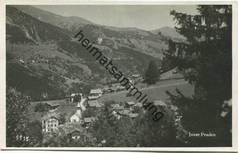 Inner Praden - Foto-AK - Verlag Andr. Hane Rorschach gel. 1934