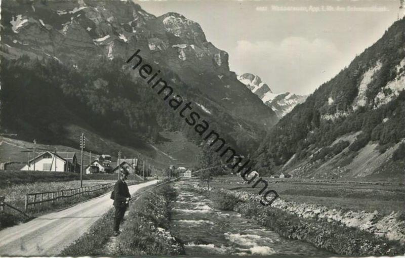Wasserauen - Am Schwendibach - Foto-AK - Verlag Foto-Gross St. Gallen
