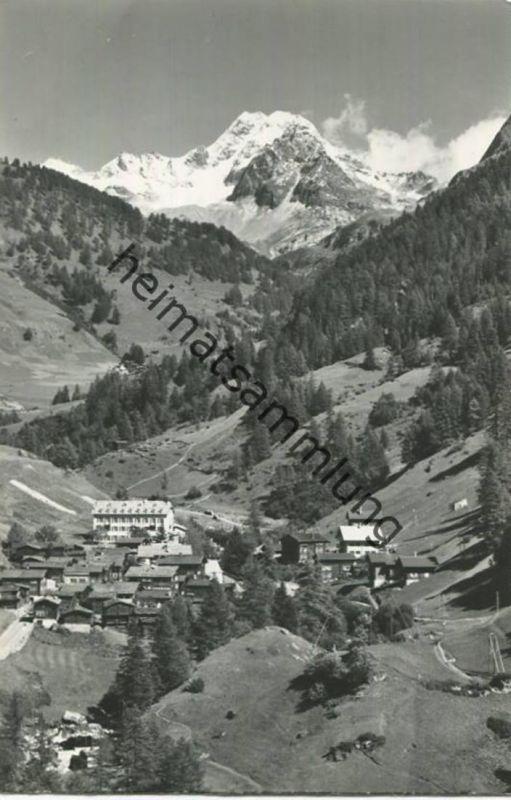 Binn - Ofenhorn - Foto-AK - Verlag Klopfenstein Adelboden