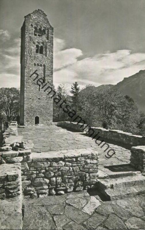 Goldswil - Kirchen-Ruine - ehemalige Kirche der Gemeinden Ringgenberg und Unterseen - Foto-AK - Verlag H. Steinhauer Int