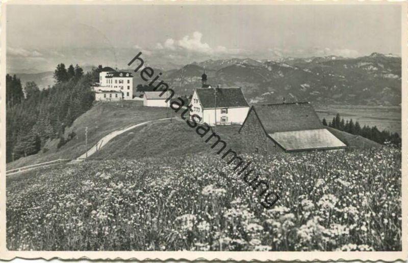 St. Anton Oberegg - Kurhaus & Pension Alpenhof - Foto-AK - Verlag Ad. Sonderegger Oberegg gel. 1956