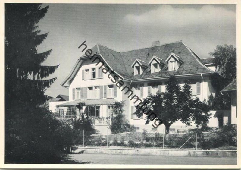 Münchenbuchsee - Privates Nervensanatorium - Johann-Kaspar-Haus - AK Grossformat
