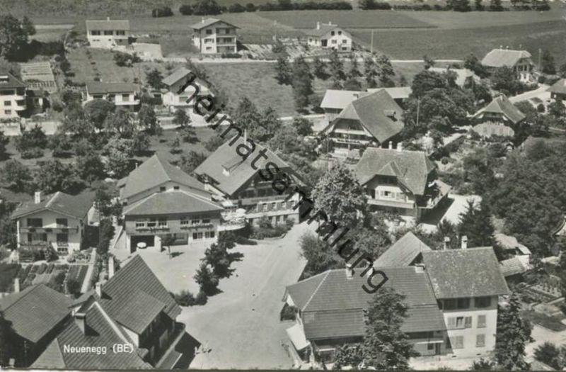 Neuenegg - Flugaufnahme - Foto-AK - Verlag Photoglob-Wehrli A.G. Zürich gel. 1960
