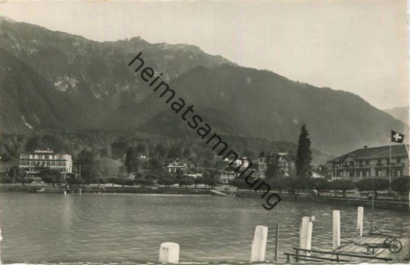 Bönigen - Foto-AK - Verlag H. Steinhauer Interlaken gel. 1951