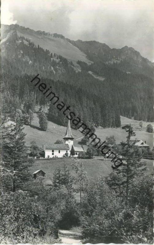 Oberwil im Simmental - Foto-AK - Verlag R. Wenger Erlenbach gel. 1969
