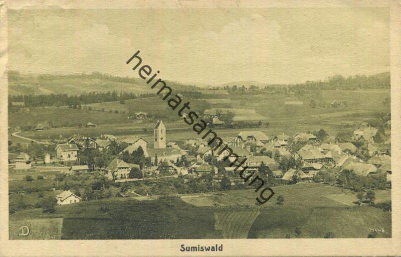 Sumiswald - Verlag R. Deyhle & Cie Bern - gel. 1922