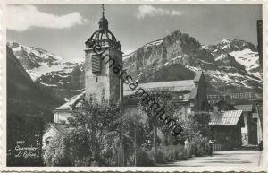Champéry - L' Eglise - Foto-AK - Edition Perrochet Lausanne 1939