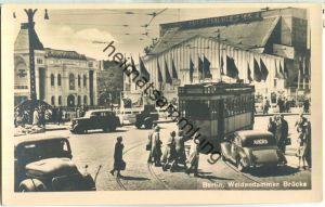Berlin - Mitte - Weidendammer Brücke - Straßenbahn - Verlag Photochemie Berlin 50er Jahre