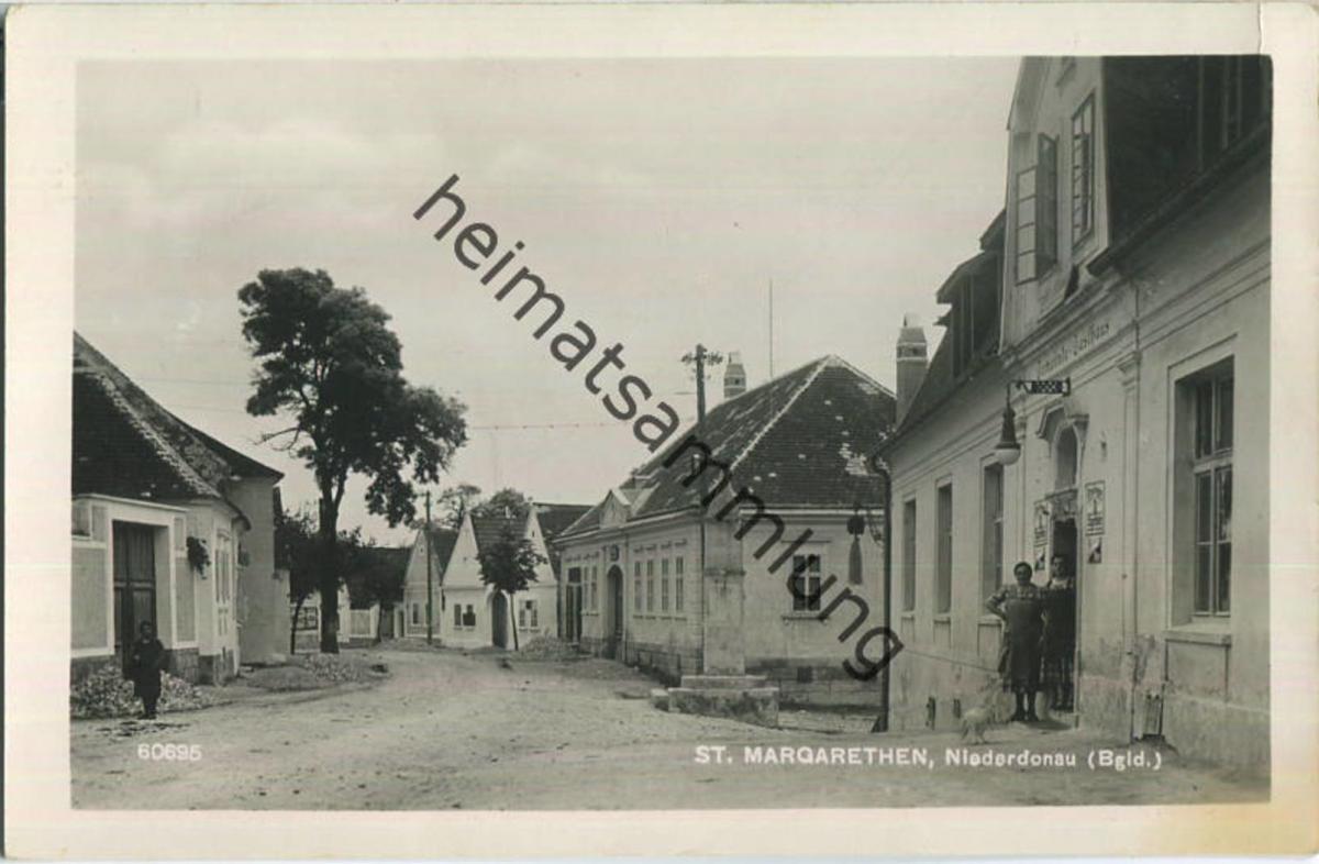 Sankt Margarethen - Gemeinde-Gasthaus - Burgenland - Foto-Ansichtskarte