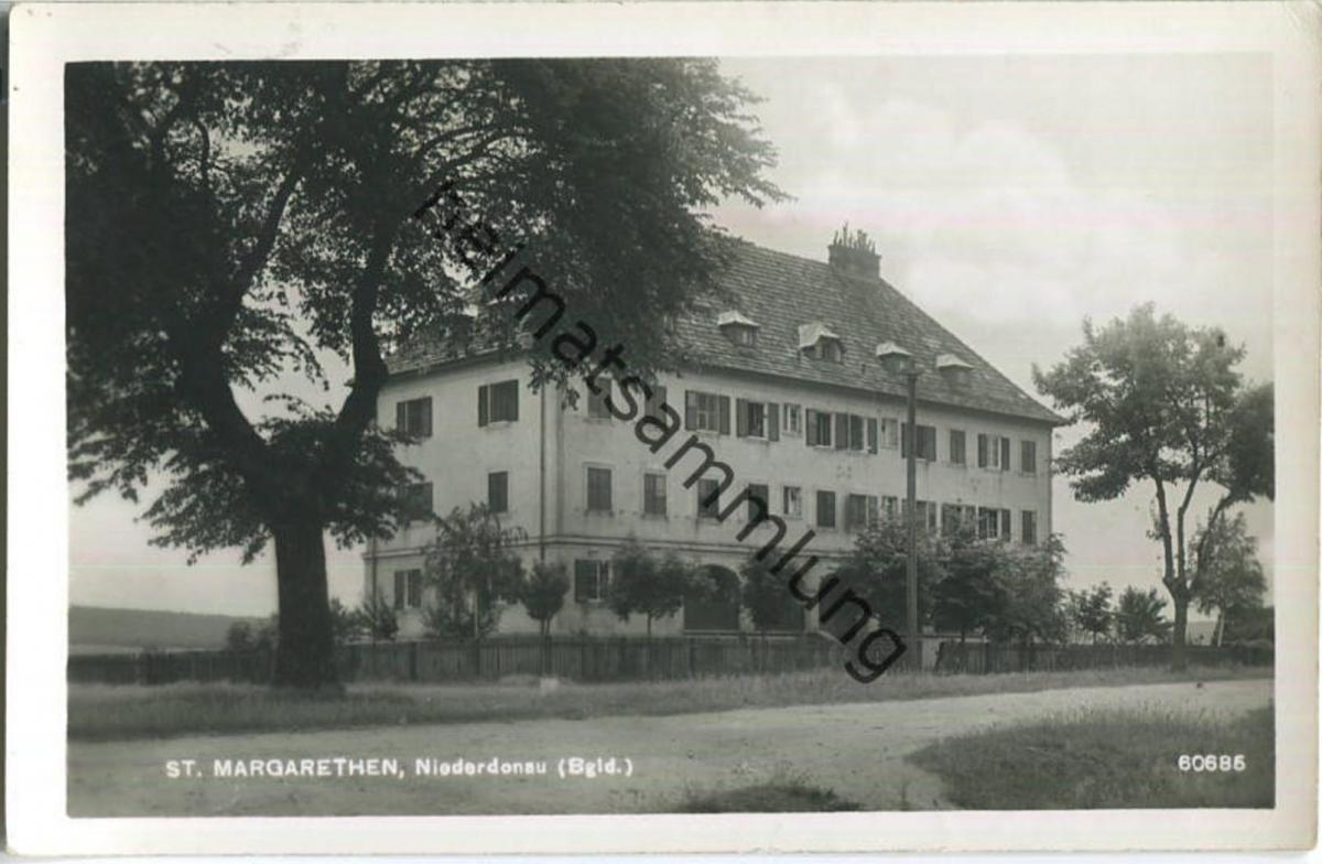 Sankt Margarethen - Altes Zollgebäude - Burgenland - Foto-Ansichtskarte