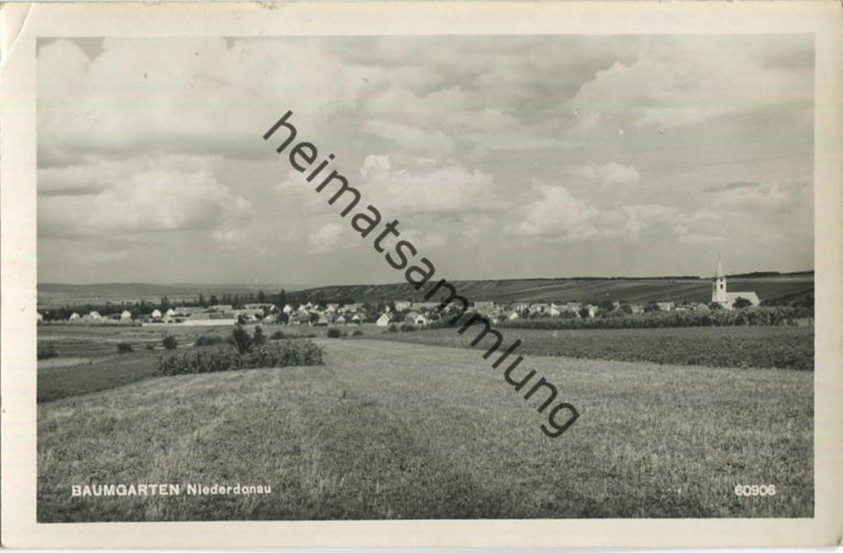 Baumgarten - Burgenland - Foto-Ansichtskarte
