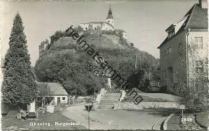 Güssing - Foto-AK - Verlag Alfons Bayer Lafnitz bei Hartberg