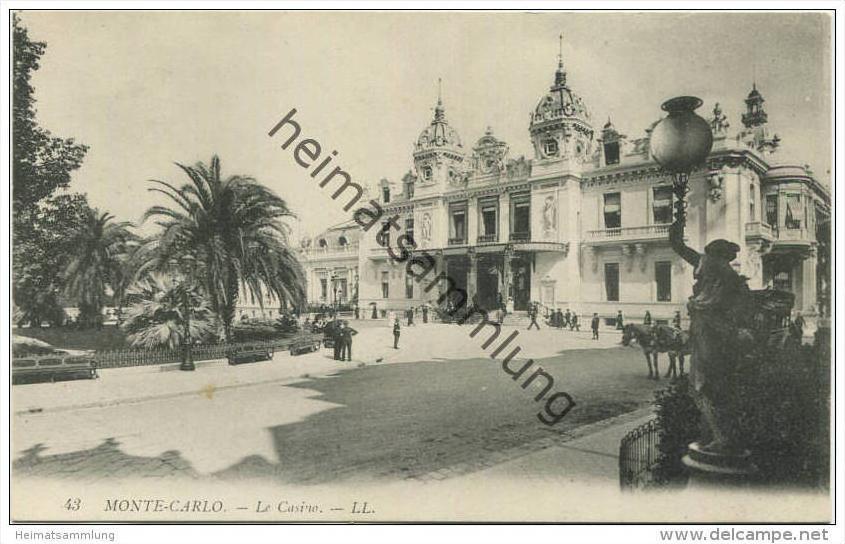 Monaco - Monte Carlo - Le Casino
