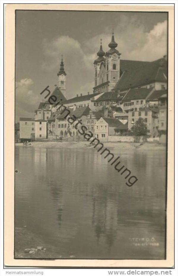 Steyr - Foto-AK - Verlag Rebausch Steyr 40er Jahre