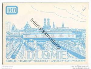 QSL - Funkkarte - DL0ME - München-Aubing - 1969