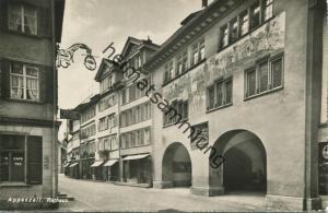 Appenzell - Rathaus - Foto-AK - Verlag Photoglob-Wehrli Zürich gel. 1949