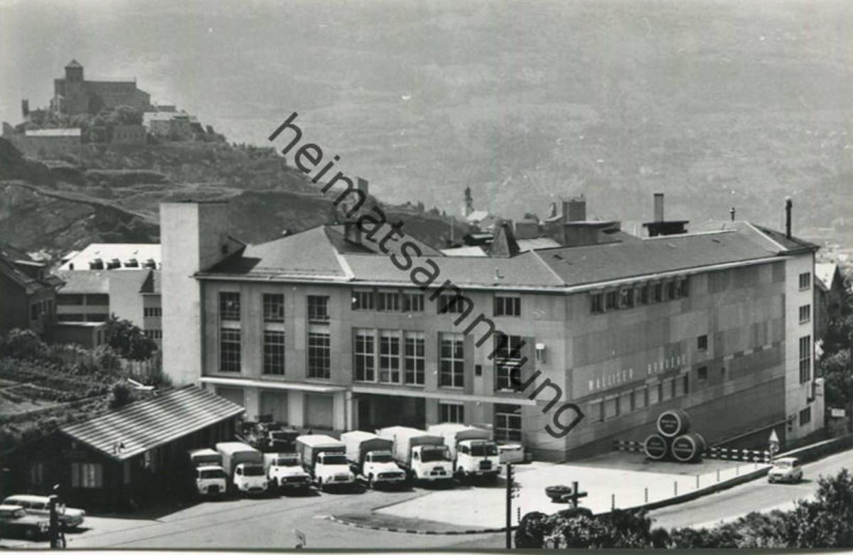 Sion - Jahrhundertfeier Walliser Brauerei A.G. Sitten - Foto-AK - Verlag G. Metrailler-Borlat Sion