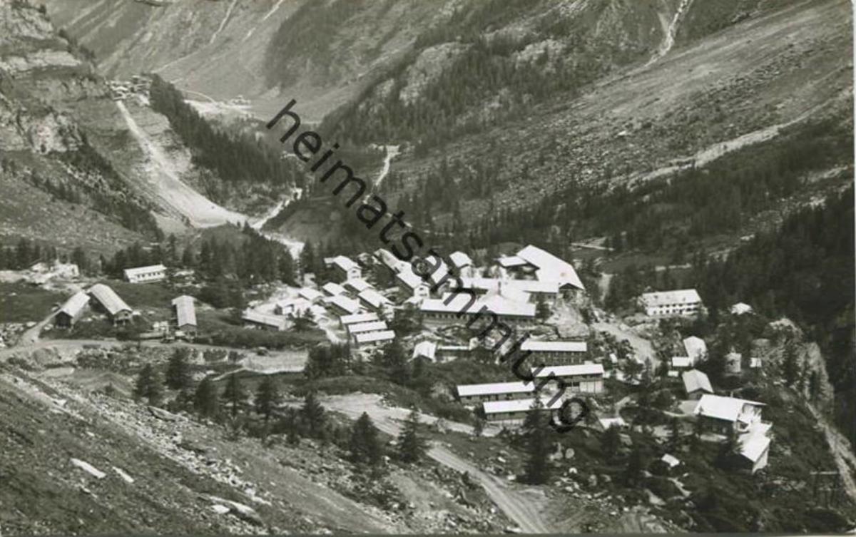 Mauvoisin - Village - Foto-AK gel. 1952