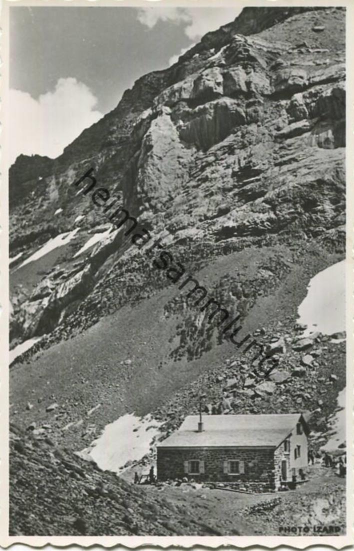 Cabane des Diablerets - Foto-AK - Edition Perrochet Lausanne