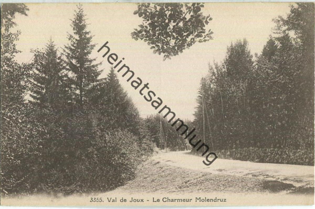 Val de Joux - Le Charmeur Molendruz - Edition Maison Denereaz Lausanne