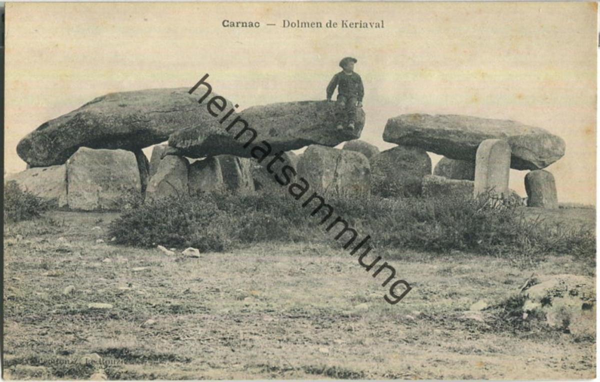 Carnac - Dolmen de Keriaval