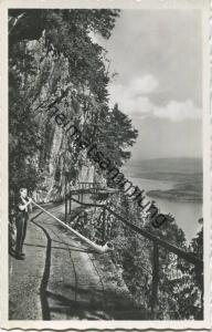Bürgenstock - Felsenweg - Foto-AK - Verlag Engelsberger Stans - gel. 1948