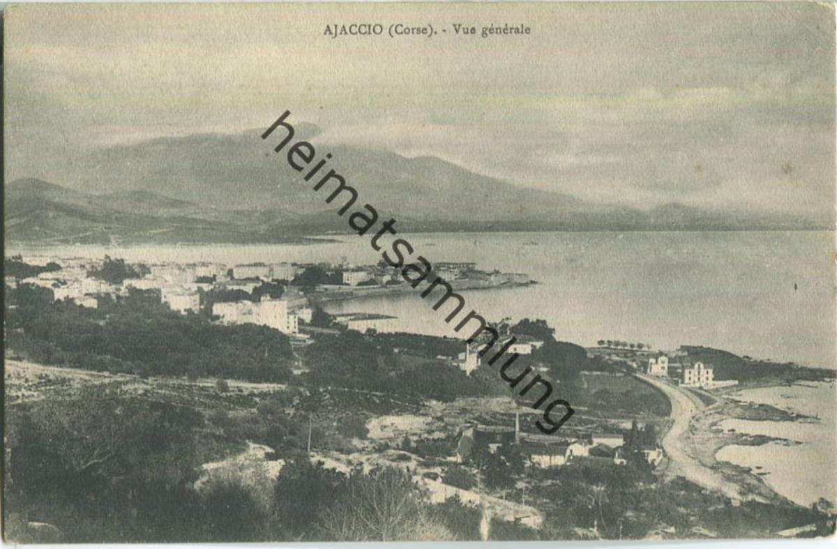 Ajaccio ca. 1900 - Edition J. Moretti Corte (Corse)