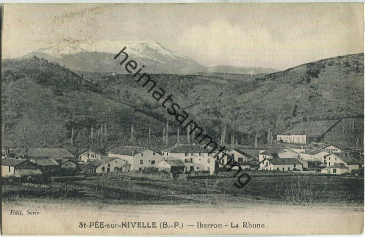 St. Pee sur Nivelle - Ibarron - La Rhune
