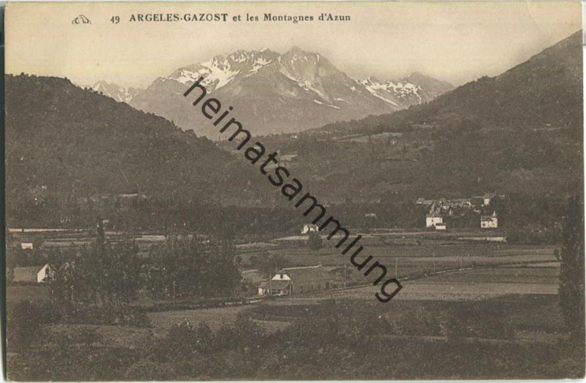 Argeles-Gazost et les Montagnes d'Azun
