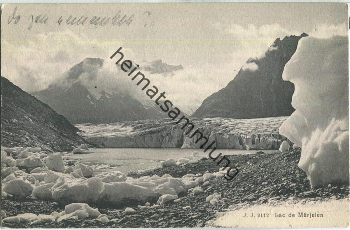 Lac de Märjelen - Edition Jullien freres Geneve ca. 1910