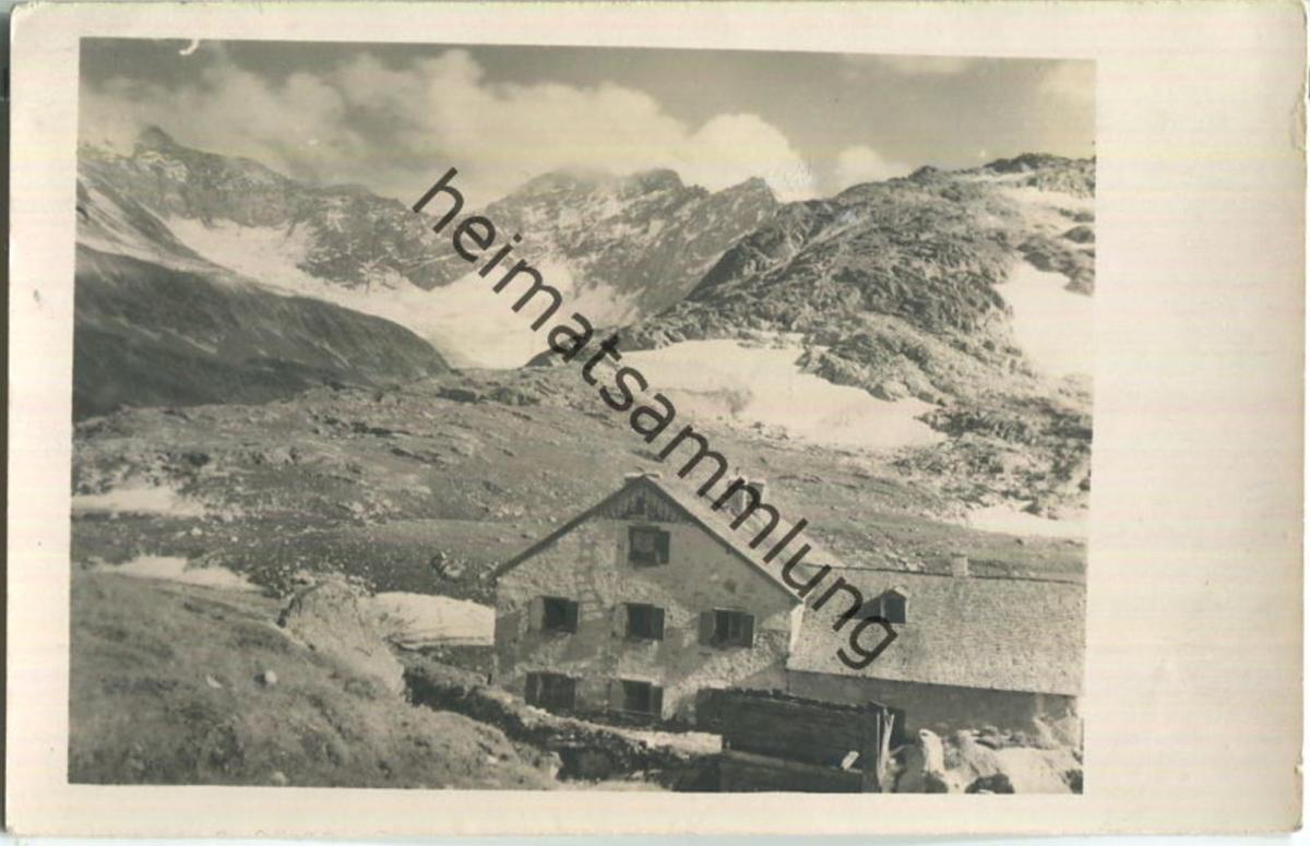 Rudolfshütte - Hohe Tauern - Foto-Ansichtskarte - Verlag Deutscher und Österreichischer Alpenverein Sektion St. Pölten