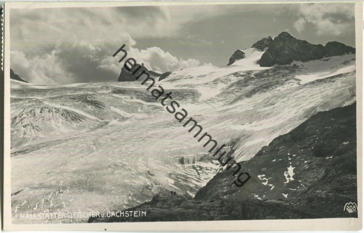 Hallstätter Gletscher - Dachstein - Foto-Ansichtskarte - Verlag Max Mayer Leoben