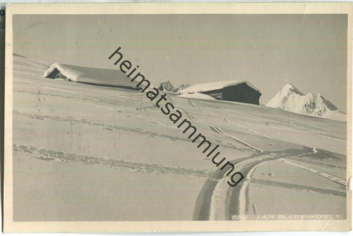 Krimml - Am Plattenkogel - Foto-Ansichtskarte - Verlag C. Jurischek Salzburg