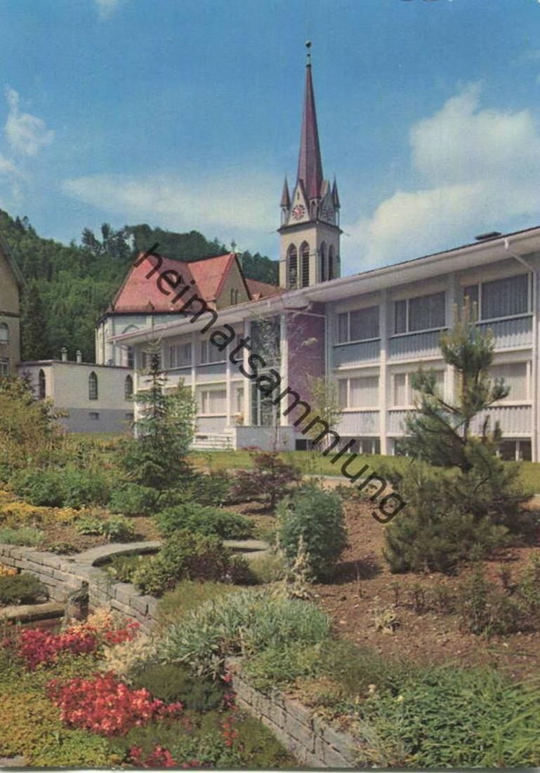 Dussnang - Haushaltungsschule - AK Grossformat - Verlag Foto-Gross St. Gallen - gel. 1962