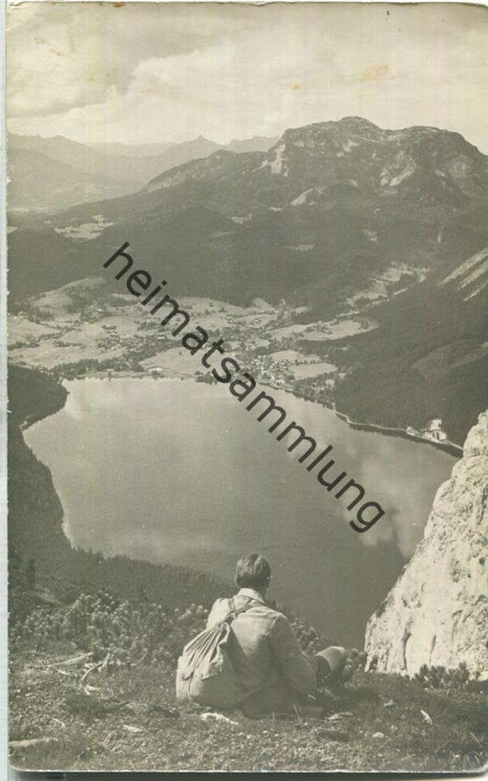 Altaussee - Triffelwand - Foto-Ansichtskarte 20er Jahre - Verlag Jos. Kain Mitterndorf