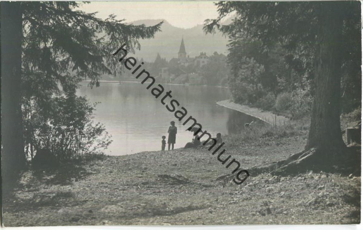 Altaussee - Dorfansicht - Foto-AK 20er Jahre - Verlag Jos. Kain Mitterndorf