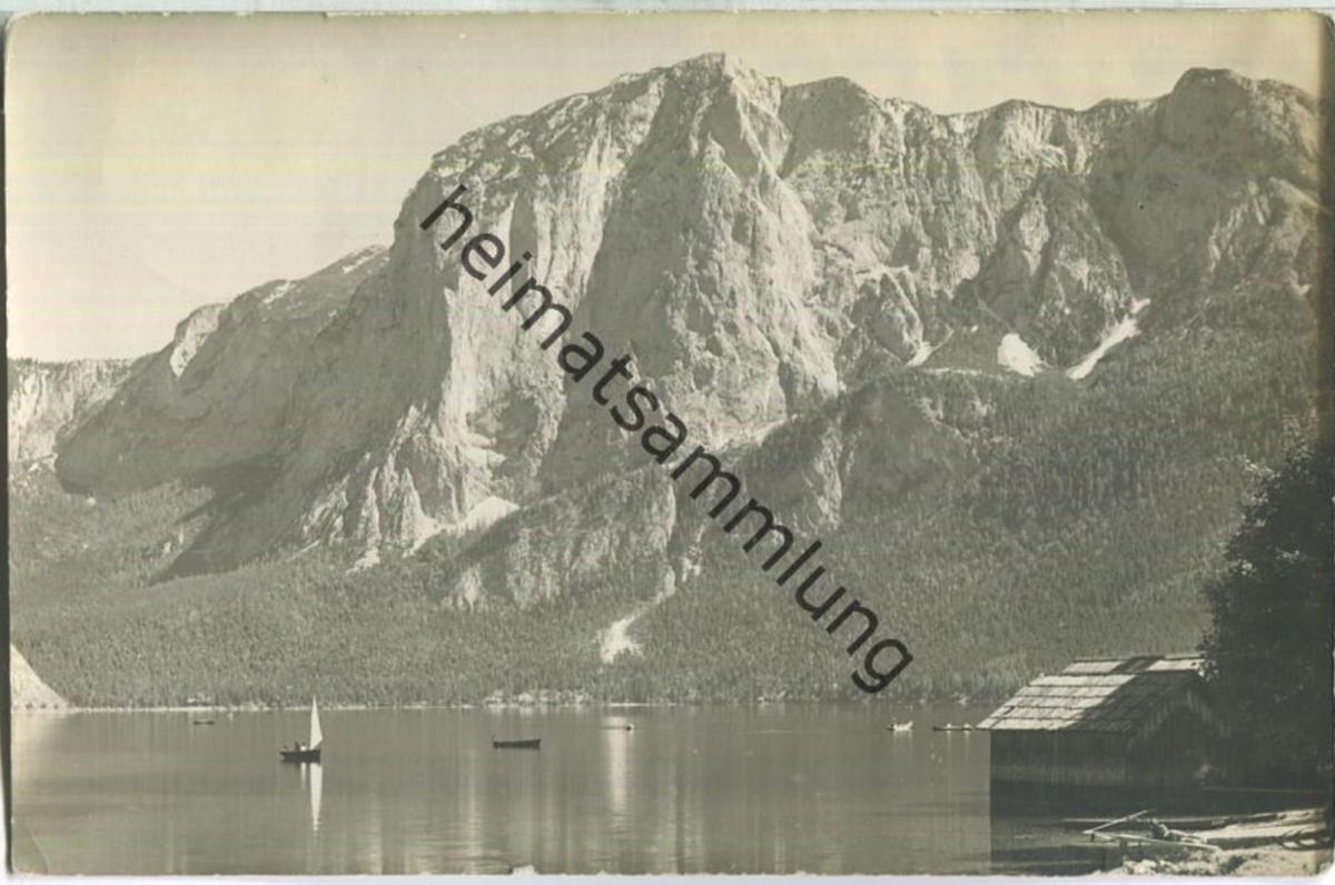 Altaussee - Triffelwand - Foto-Ansichtskarte - Verlag Jos. Kain Mitterndorf