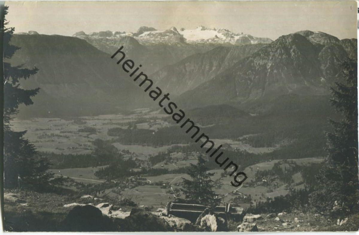 Altaussee - Dachstein - Foto-Ansichtskarte 20er Jahre - Verlag Jos. Kain Mitterndorf
