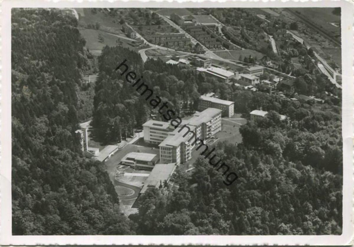 Schaffhausen - Kantonsspital - Flugaufnahme - Foto-AK Grossformat - Verlag Flug-Foto Anger Schaffhausen
