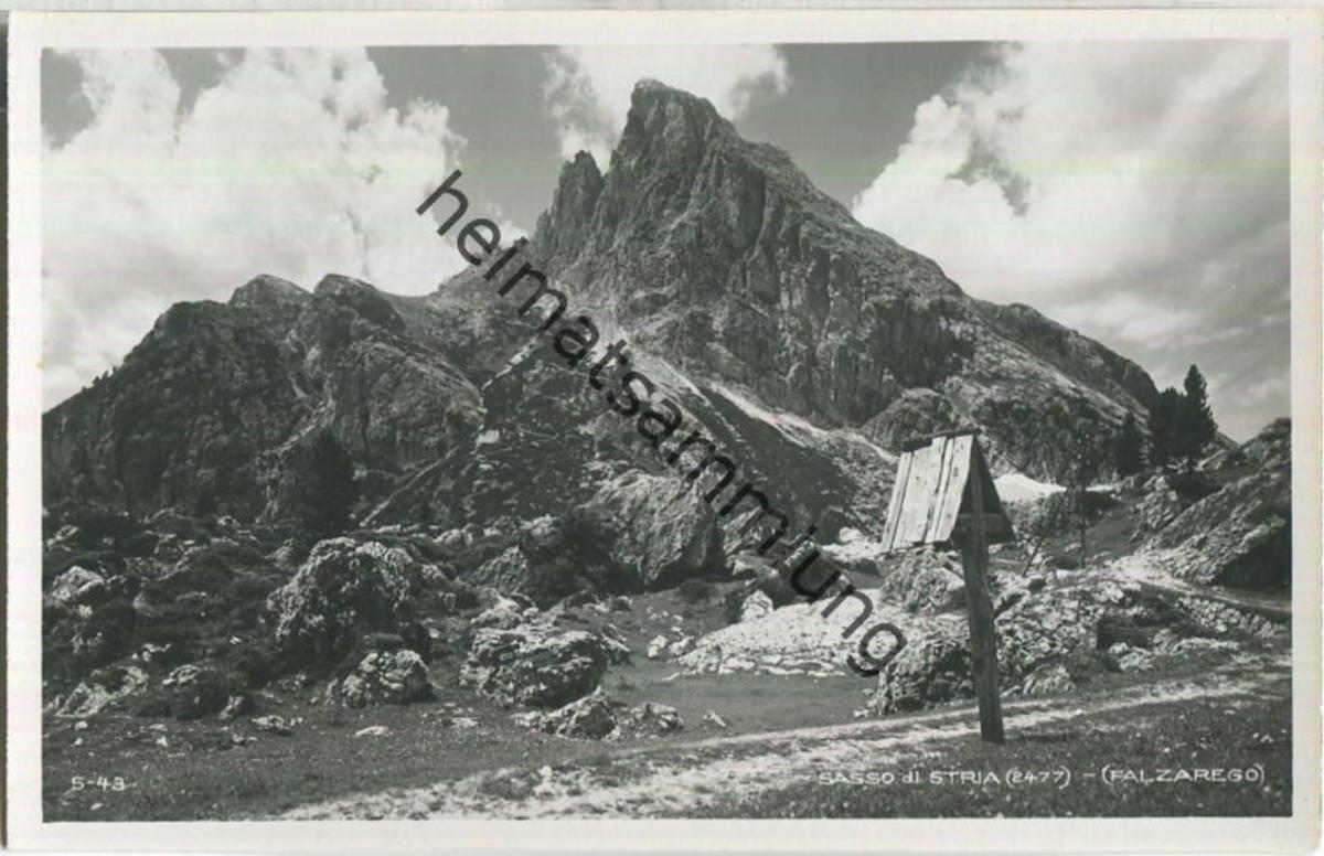 Passo di Stria - Falzarego - Foto-Ansichtskarte - Verlag Ghedina Cortina d' Ampezzo