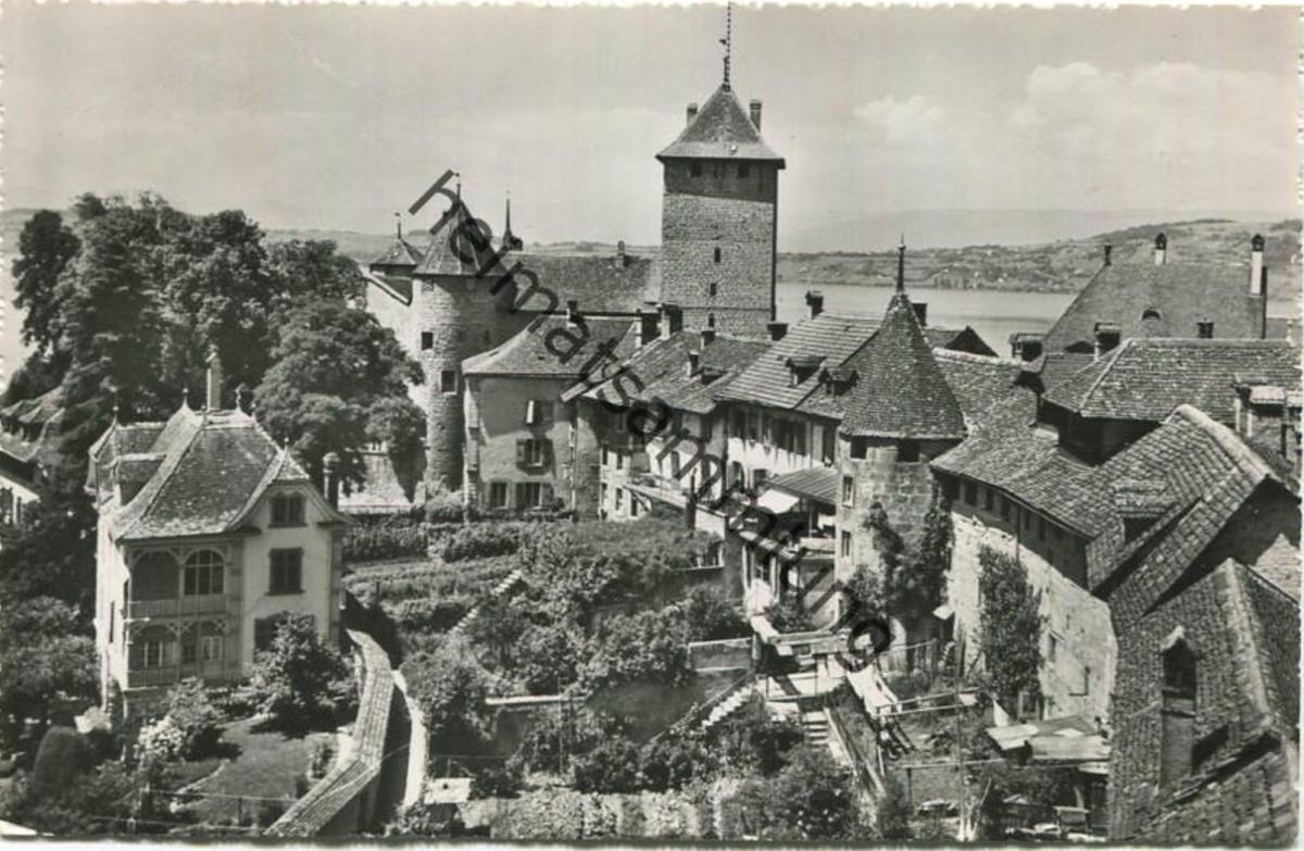 Murten - Foto-AK - Verlag Photoglob-Wehrli Zürich gel. 1953