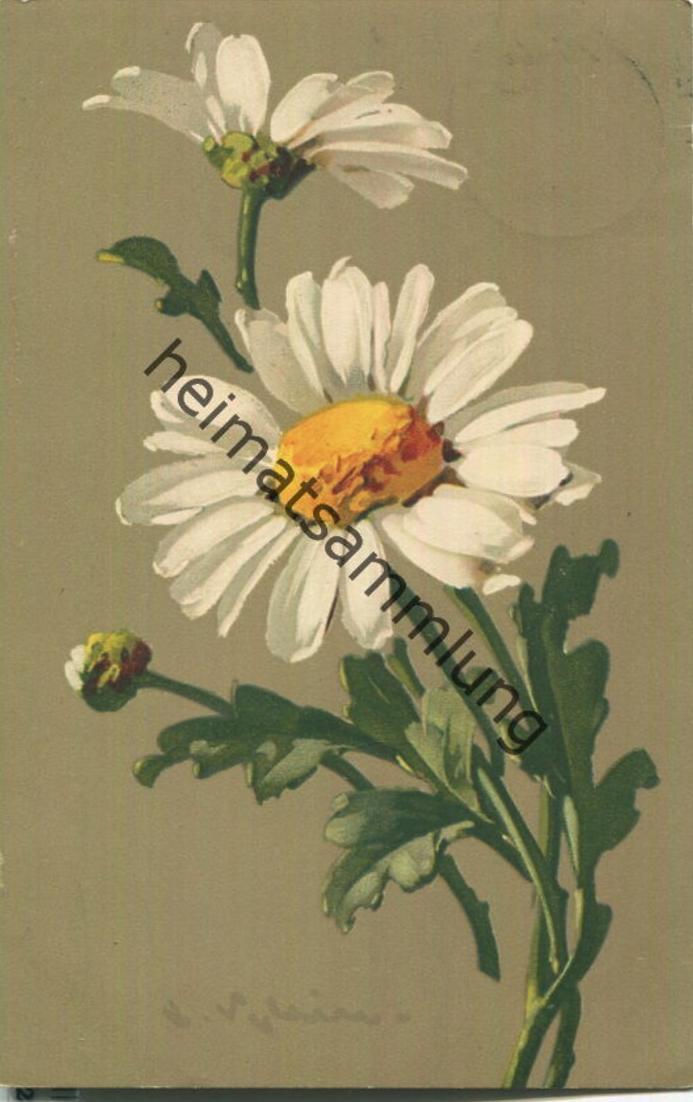 Catharina C. Klein - Verlag Meissner & Buch Leipzig Serie 1774 - Gouache Blumenschönheiten