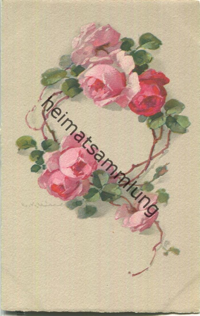 Catharina C. Klein - Rosen - Verlag Meissner & Buch Leipzig Serie 2367