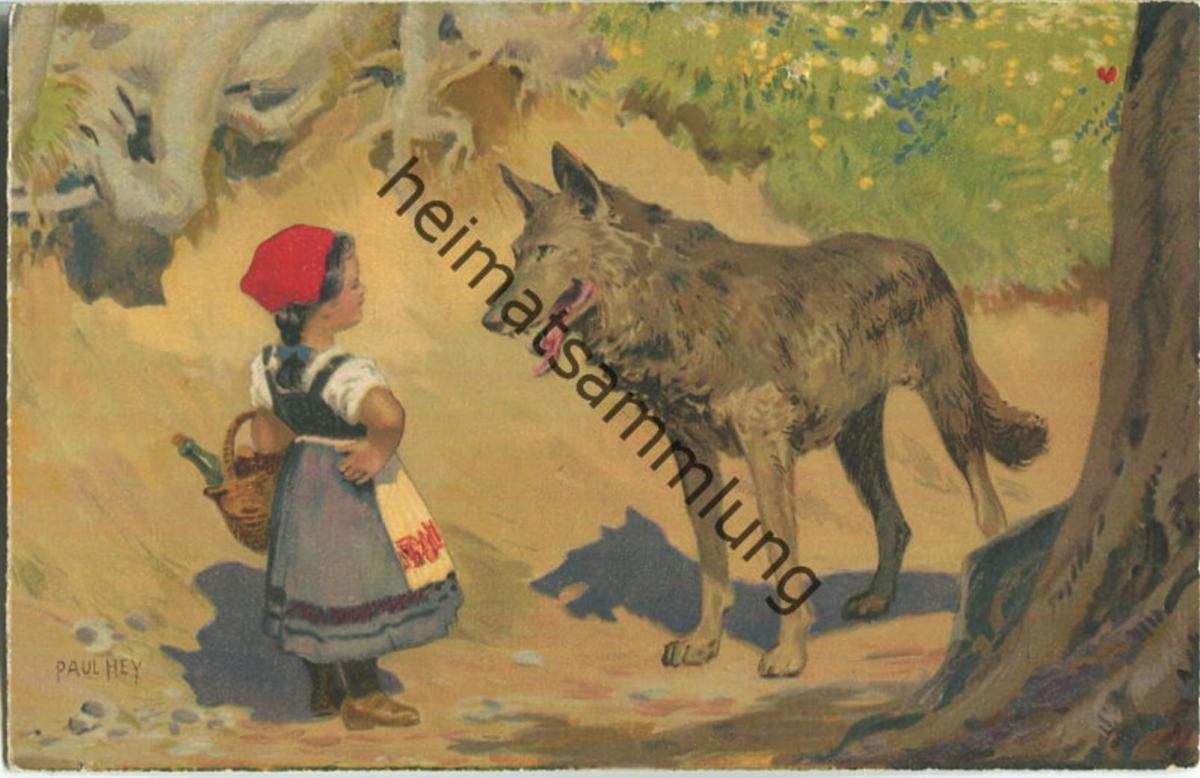 Paul Hey - Rotkäppchen - Verlag Meissner & Buch Leipzig Serie 1874