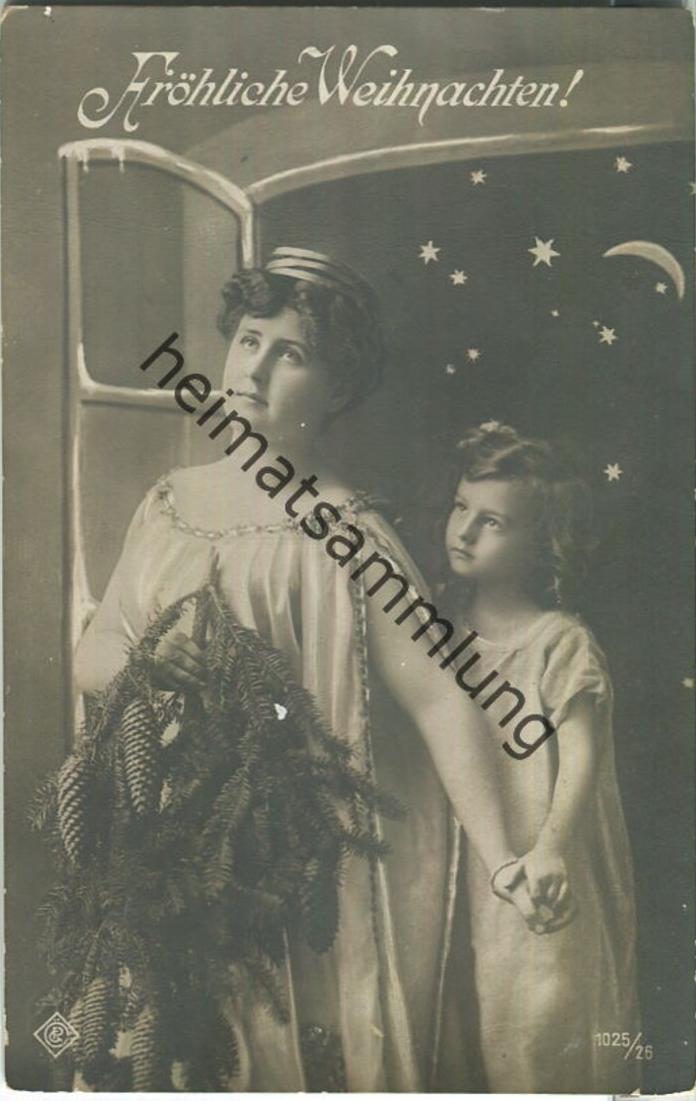 Fröhliche Weihnachten - Frau - Kind